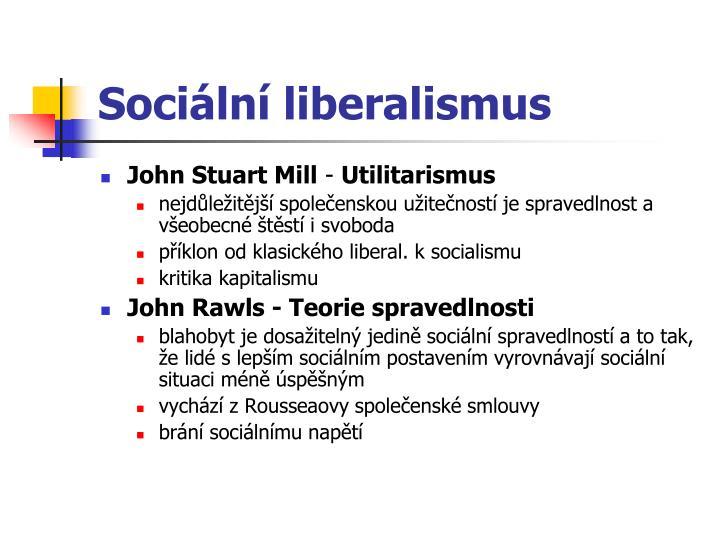 Sociální liberalismus