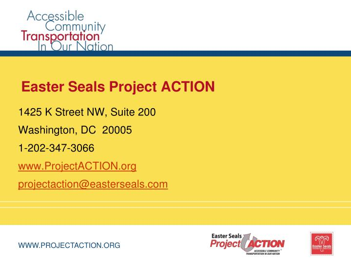 Easter Seals Project ACTION