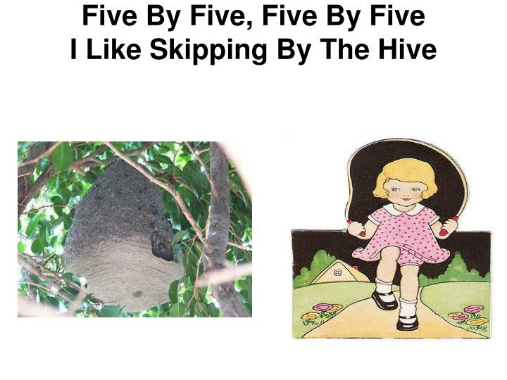 Five By Five, Five By Five