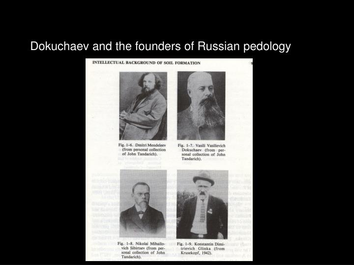 Dokuchaev and the founders of Russian pedology
