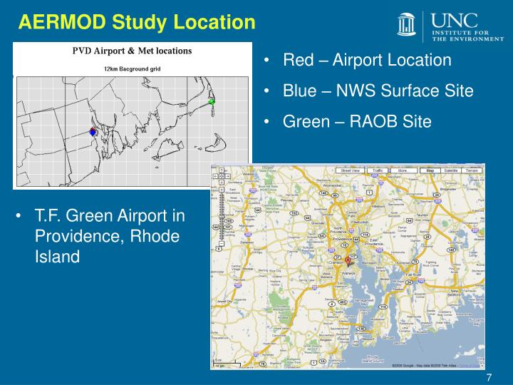 AERMOD Study Location