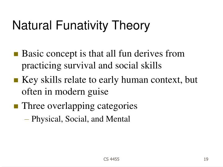 Natural Funativity Theory