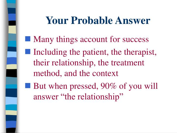 Your Probable Answer