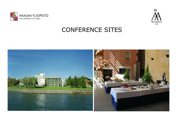 CONFERENCE SITES