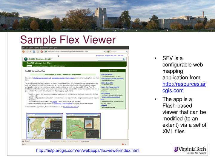 Sample Flex Viewer