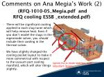 comments on ana megia s work 2 rfq 1010 05 megia pdf and rfq cooling essb extended pdf