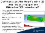 comments on ana megia s work 3 rfq 1010 05 megia pdf and rfq cooling essb extended pdf