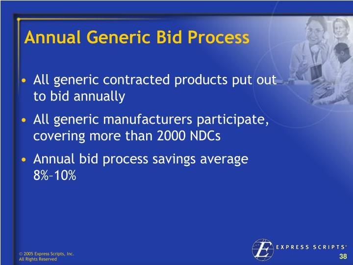 Annual Generic Bid Process