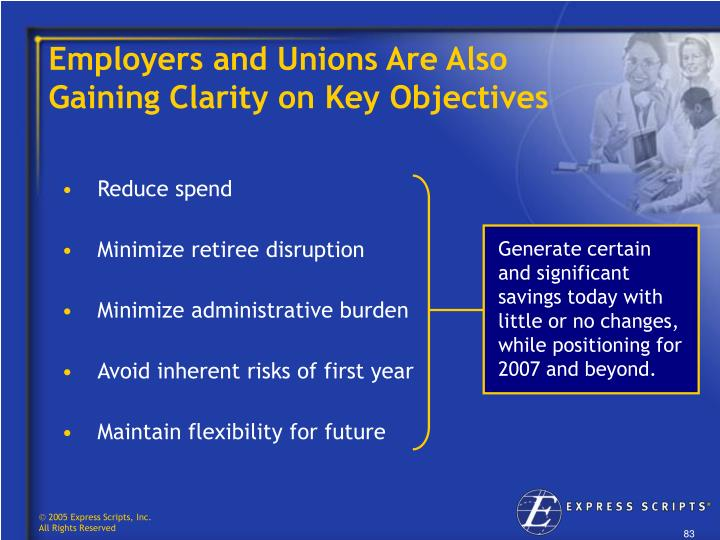 Employers and Unions Are Also     Gaining Clarity on Key Objectives