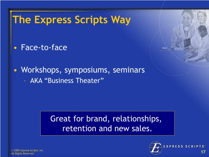 The Express Scripts Way