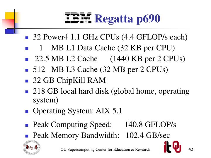 IBM Regatta p690