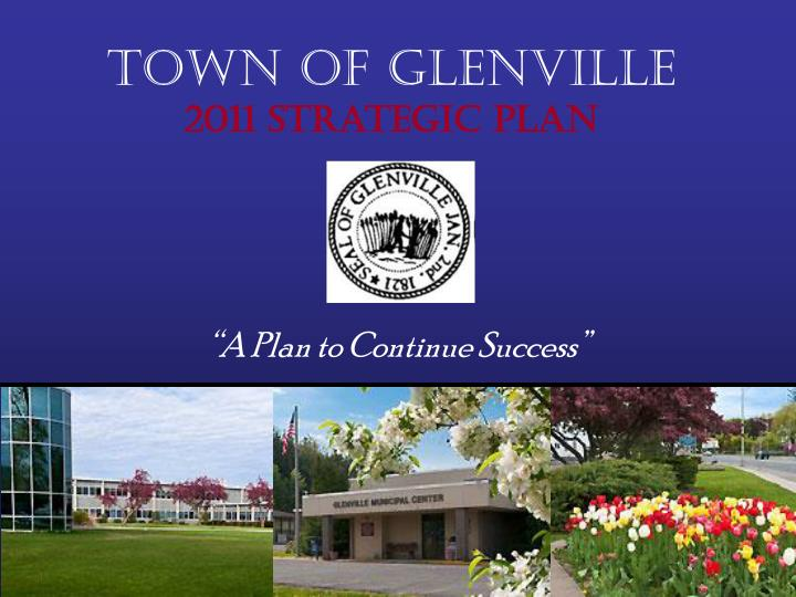 Town of glenville 2011 strategic plan