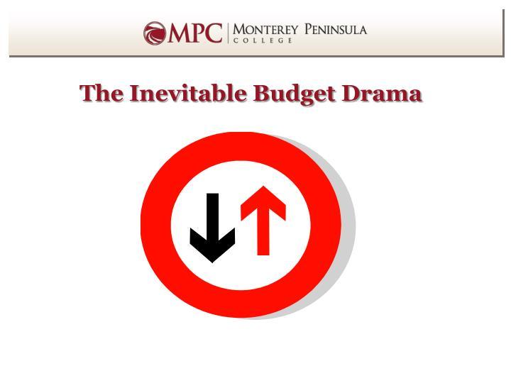 The Inevitable Budget Drama