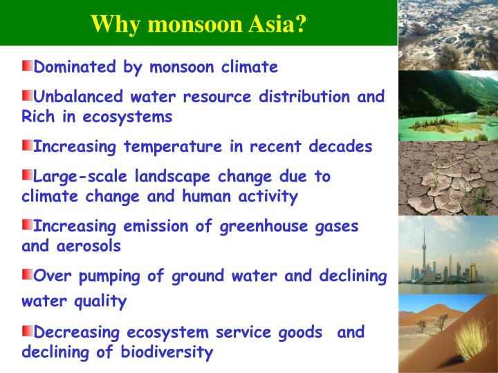 Why monsoon asia