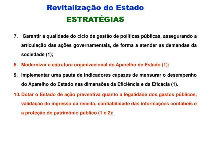 Revitalização do Estado