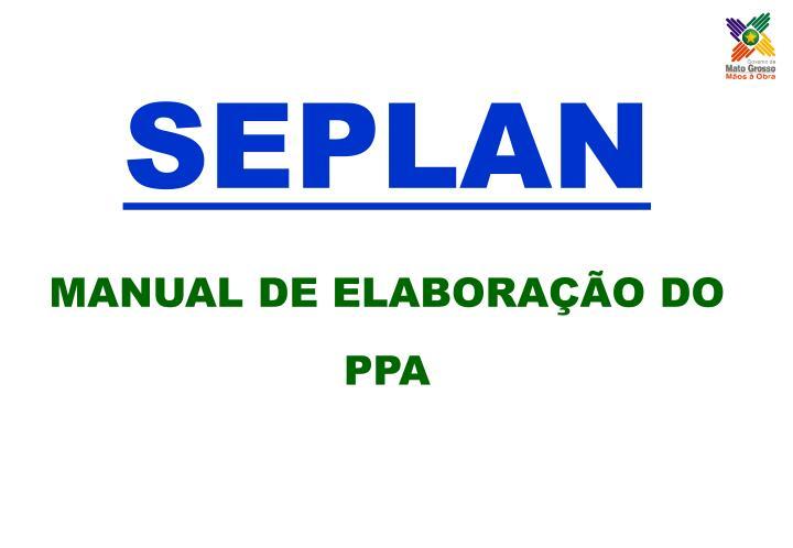 SEPLAN