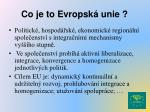 co je to evropsk unie