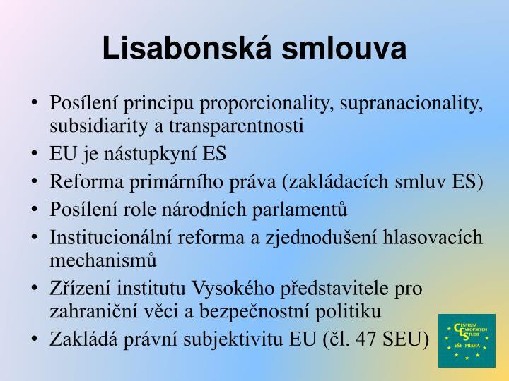 Lisabonská smlouva
