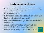 lisabonsk smlouva