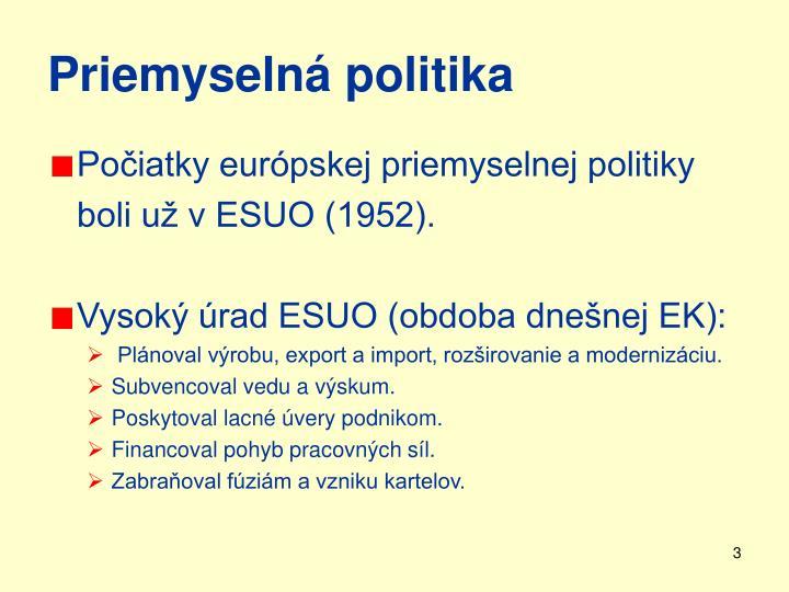 Priemyselná politika