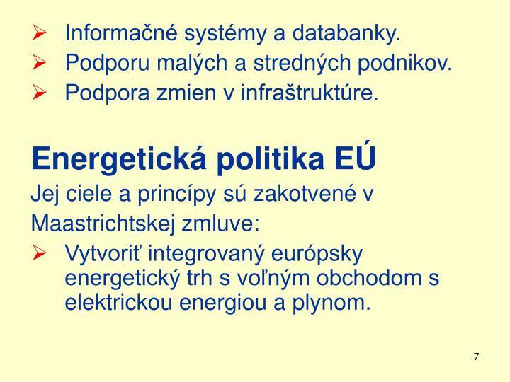 Informačné systémy a databanky.