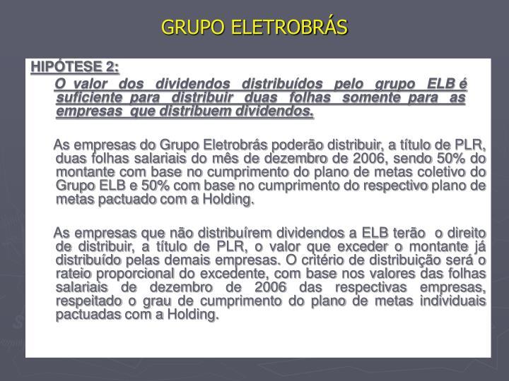 GRUPO ELETROBRÁS