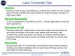 laser transmitter task