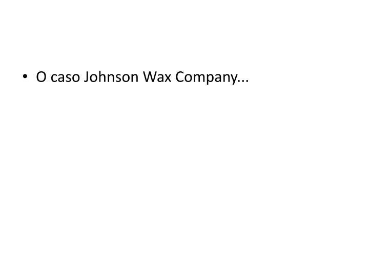 O caso Johnson