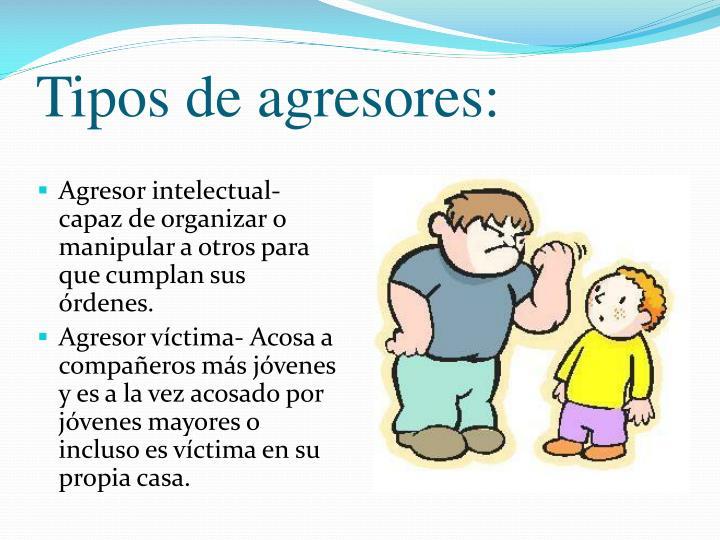 Tipos de agresores: