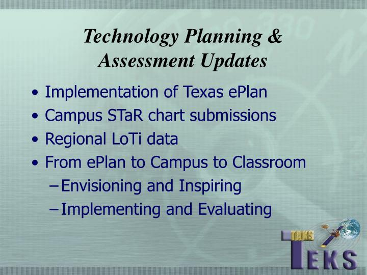 Technology Planning &