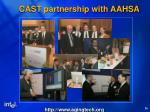 cast partnership with aahsa1