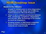 nemi roadmap issue1