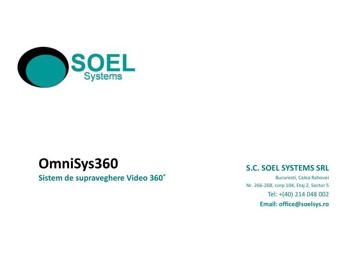 S.C. SOEL SYSTEMS SRL