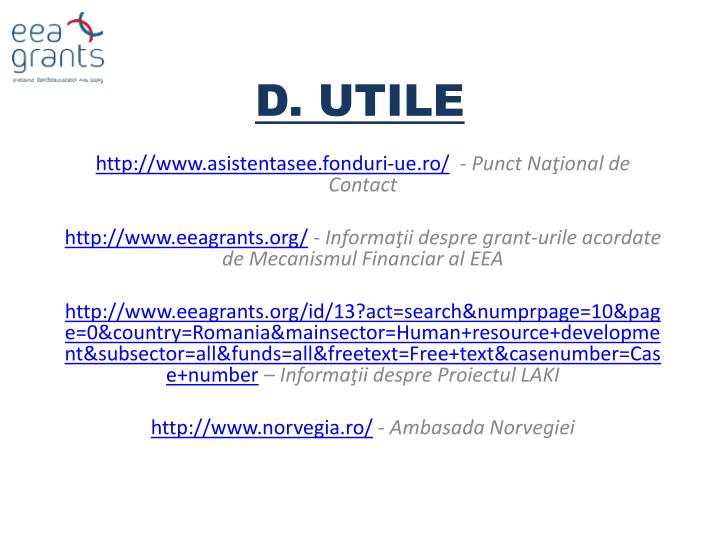 D. UTILE