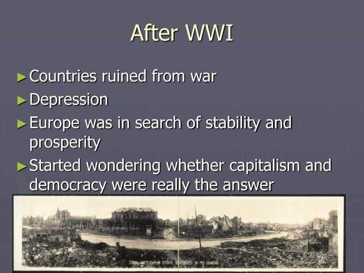 After WWI