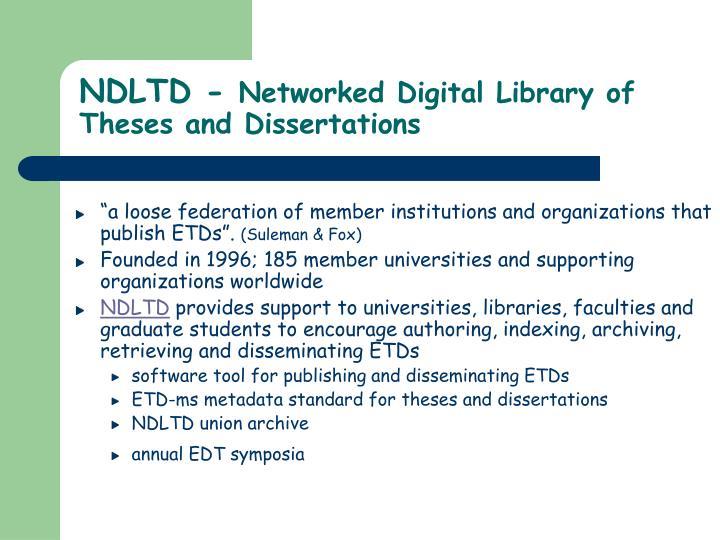 NDLTD -