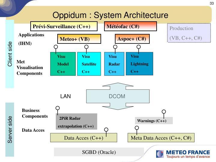 Oppidum : System Architecture