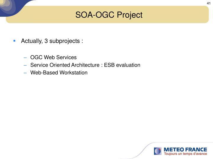 SOA-OGC Project