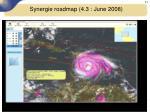 synergie roadmap 4 3 june 20086