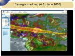 synergie roadmap 4 3 june 20087