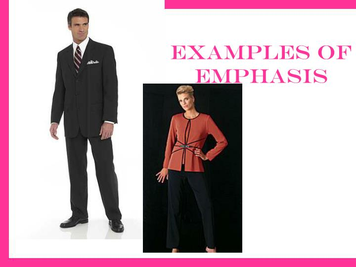 Examples of emphasis