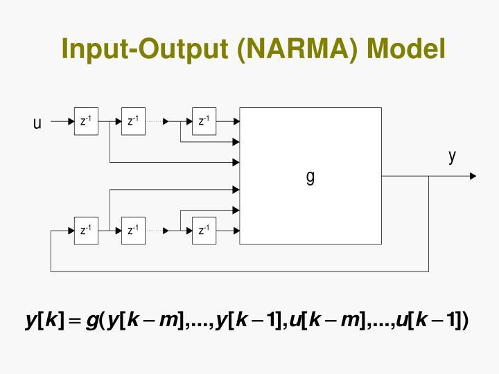 Input-Output (NARMA) Model
