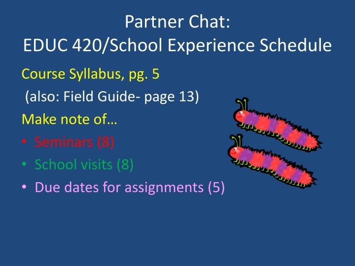 Partner Chat: