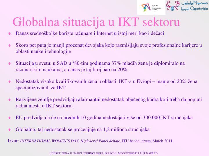 Globalna situacija u IKT sektoru