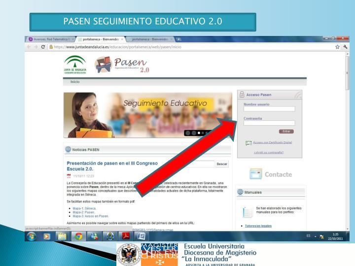 PASEN SEGUIMIENTO EDUCATIVO 2.0