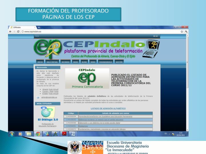 C.E.P. (CENTRO ENSEÑANZA PROFESORADO)