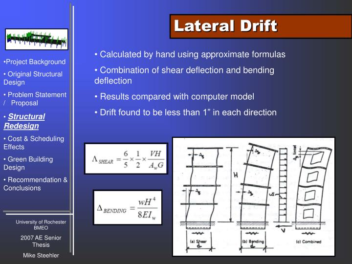 Lateral Drift