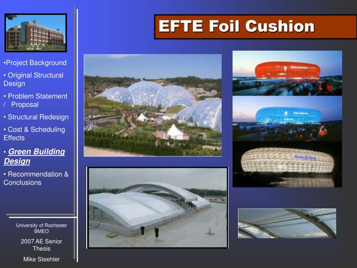 EFTE Foil Cushion