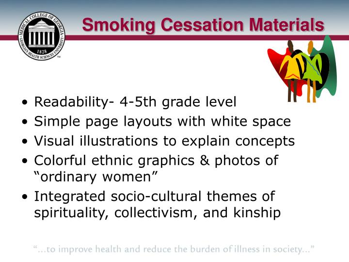 Smoking Cessation Materials