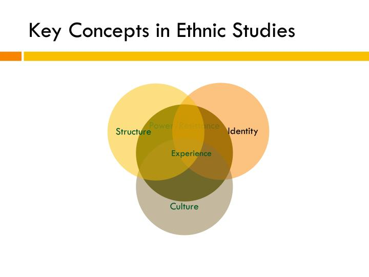Key Concepts in Ethnic Studies